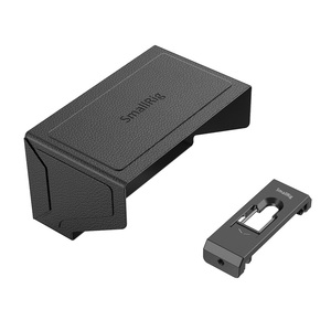 Image 2 - SmallRig смартфон Солнцезащитная бленда (маленький) Мобильный телефон Защита от солнца капот камера монитор экран ЖК капот для видео Поддержка Rig   2689
