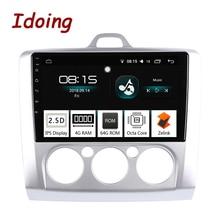 Автомагнитола Idoing PX5, 9 дюймов, 4 + 64 ГБ, 8 ядер, для Ford Focus Mondeo S Max, 2Din, Android, радио, видео, GPS, плеер, быстрая загрузка, GPS + GLONAS, Wi Fi