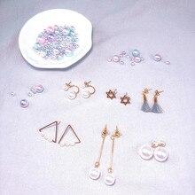 2019 Golden Color Imitation Pearls Women Earrings Classic Fine Jewelry Trendy Pearl Drop Metal Long