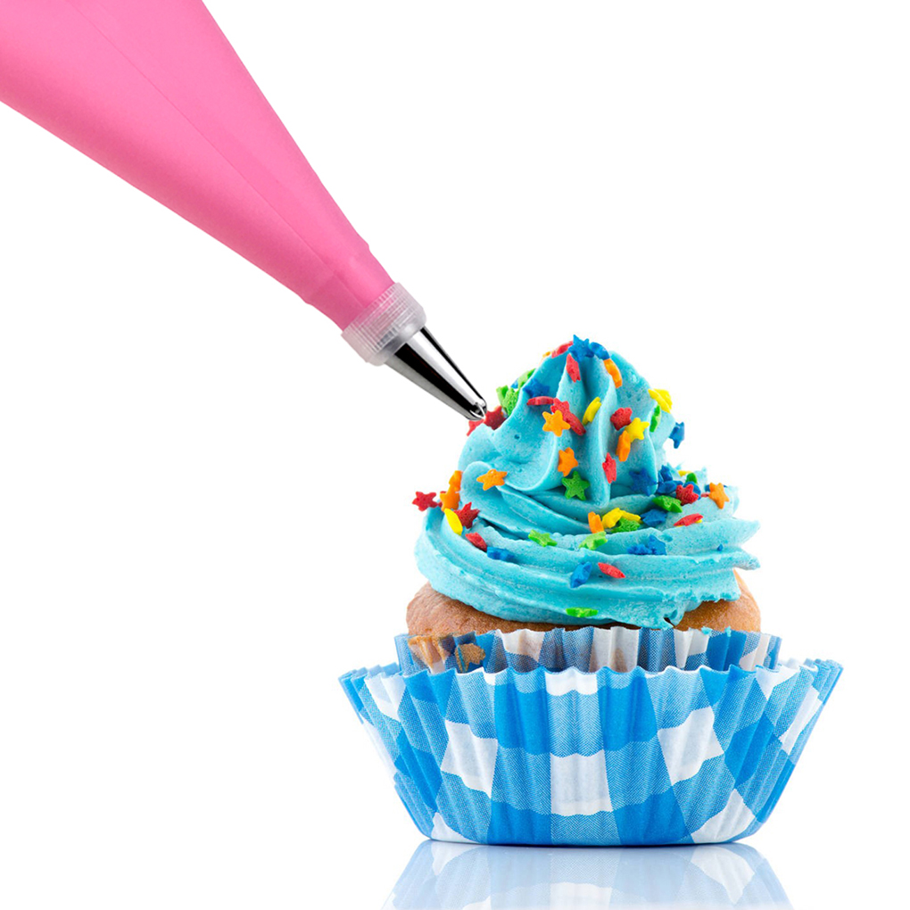 24 Nozzle Cake Decorating Set + 1 Pastry Bag