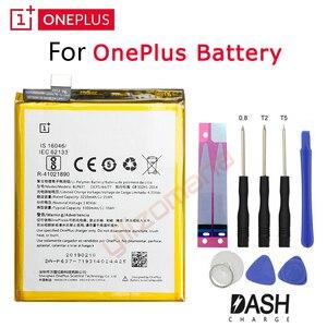 Image 1 - Một Trong Những PLUS Chính Hãng Pin Thay Thế OnePlus 3 3T 5 5T 2 1 BLP571 BLP597 BLP613 BLP633 BLP637 cho 1 + 6 6T 7 Pro Pin