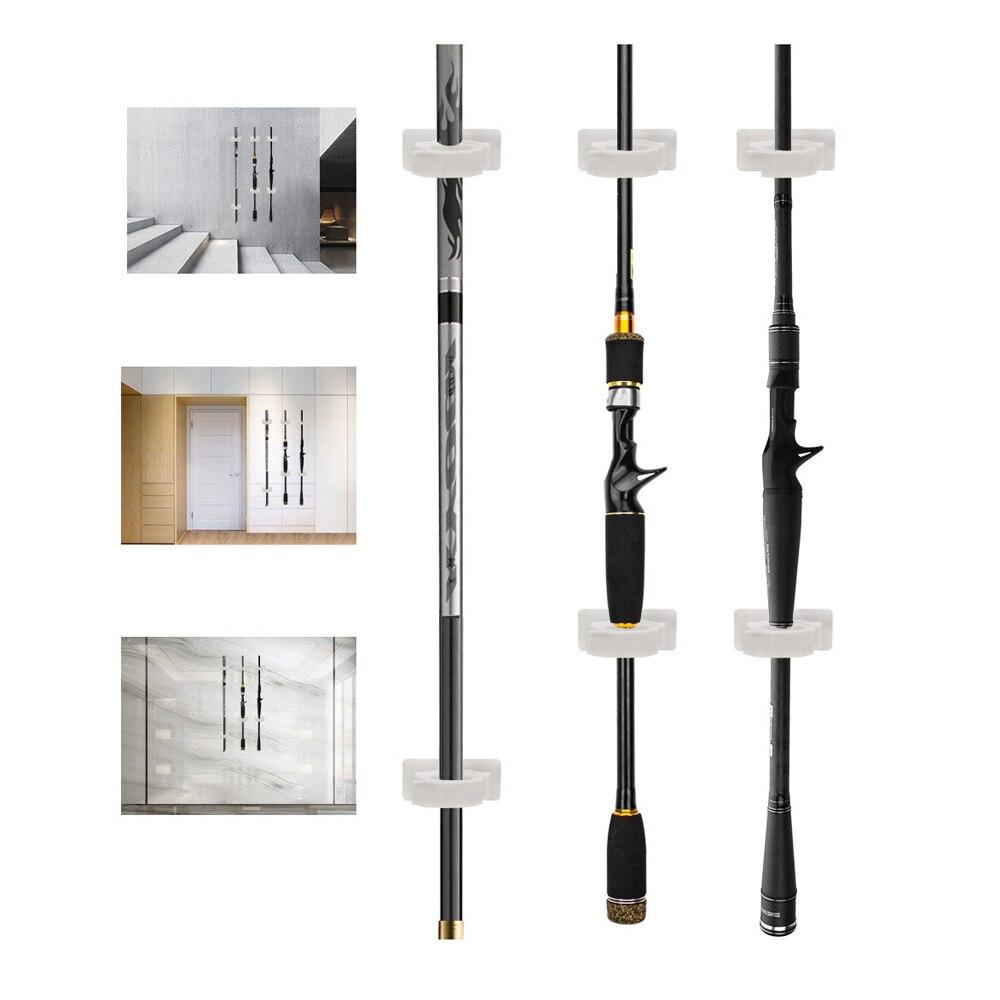 clipe suporte 4.6cm * 3.8cm pólo armazenamento titular ferramentas de pesca