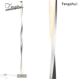 Image 4 - Nordic Led Vloerlampen Moderne Metalen Aluminium Schaduwloze Dimbare Led Staande Verlichting Armaturen Woonkamer Slaapkamer Decor Armatuur
