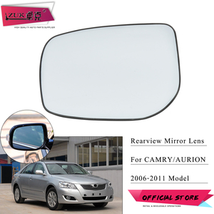 Image 1 - ZUK Gafas de espejo retrovisor lateral para coche, lentes de espejo con calefacción para TOYOTA CAMRY ASIAN 2006 2007 2008 2009 2010 2011