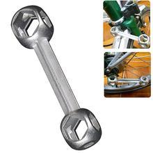 10 в 1 Мини гаечный ключ портативный инструмент для ремонта велосипеда форма кость собаки крутящий момент шестигранный гаечный ключ отверстия велосипедный гаечный ключ мульти инструменты