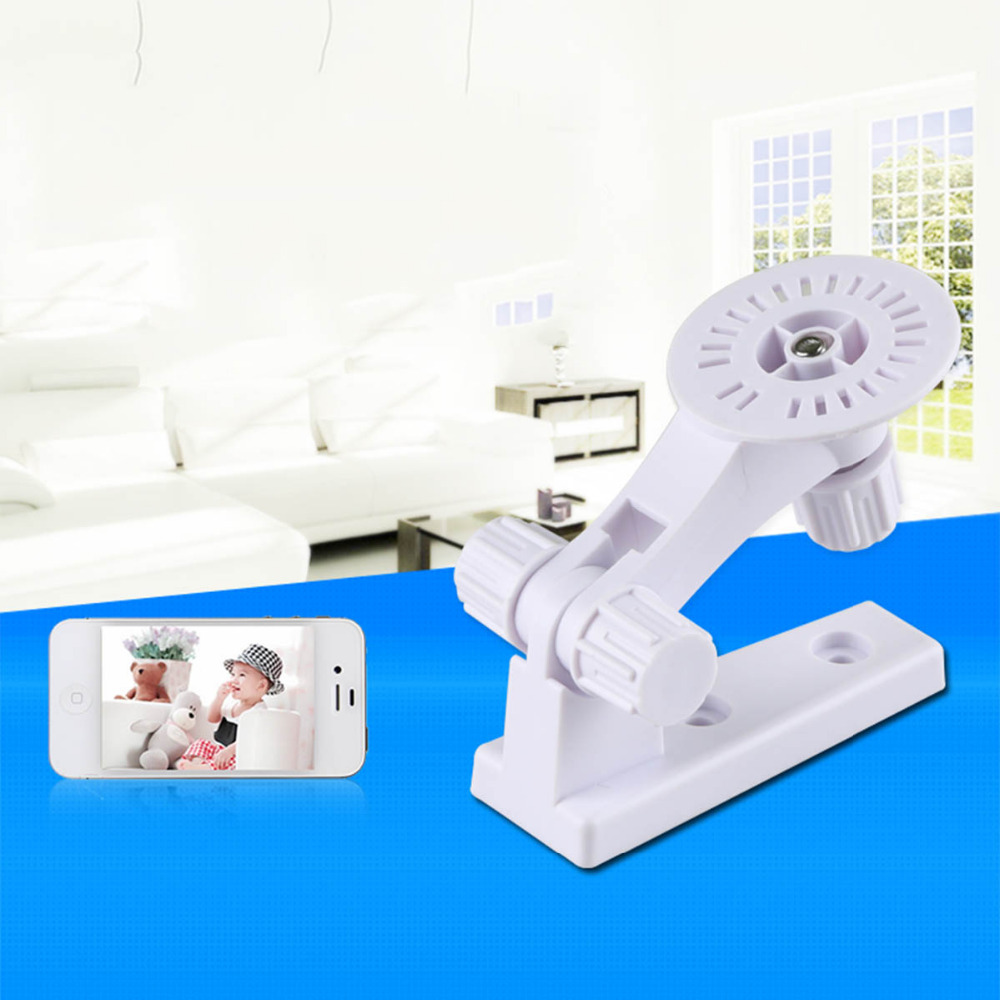180 Degree CCTV IP Camera Wall Mount Stand Module  Indoor / Outdoor Mini Mount Bracket Camera White Plastic Mount CCTV Support