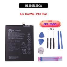 Original 3650mAh Battery HB386589ECW for Huawei P10 plus VKY-AL00 p10plus high Quality Li-ion +Tools hua wei hb386589cw original replacement phone battery for huawei p10 plus rechargeable li ion battery 3650mah free tools