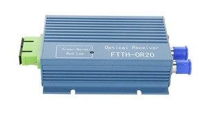 Image 2 - Оптоволоконный приемник FTTH AGC Micro SC APC, дуплексный разъем с 2 выходными портами, WDM для PON FTTH CATV передатчик