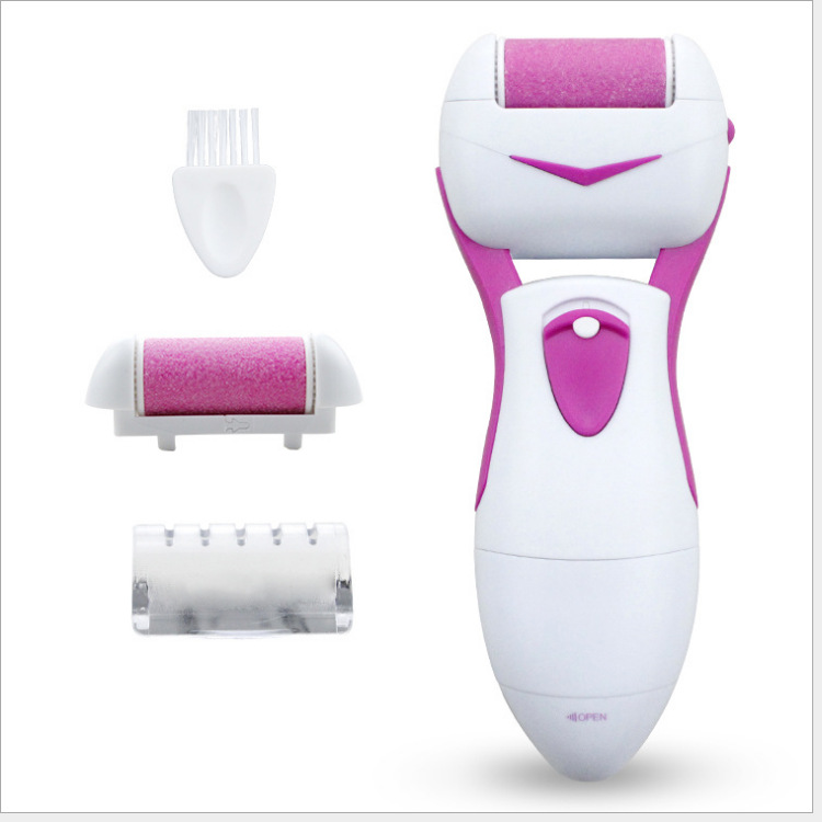 Amazon Hot Sales-Electric Pedicure Tool Exfoliating Scrub To Calluses Feet Scrubber Washing Foot Grinder Exfoliating Scrub