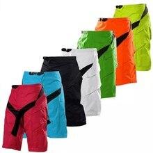 Corrida mtb bicicleta mx dh shorts da motocicleta downhill shorts verão outdoorr esporte casual calças curtas com almofada hip f