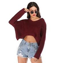 Осень зима 2020 новый женский свитер и пуловер повседневный