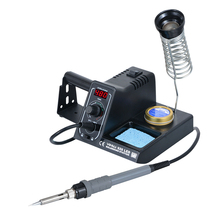 60W Intelligent Digital Electric Soldering Iron Adjustable Temperature  Mini Handle Heat Pencil Welding Repair Tools
