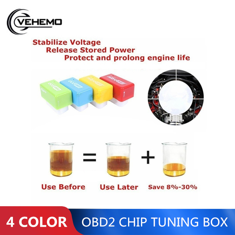OBD2 Technical Car Petrol Fuel Saver Gas Saving Oil-saving Device For Ordinary Cars Fuel-Save Fuel Economizer Chip Durable