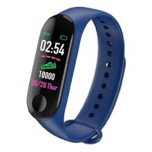 Students M3 Smart Band Heart Rate Blood Pressure Fitness Tracker 4 3 Wristband Bracelet Sport Smartwatch