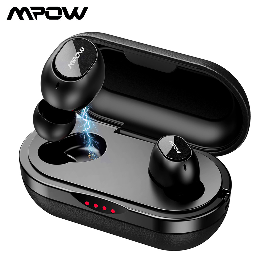 Mpow T5/M5 TWS Earphone Bluetooth 5.0 Wireless Earbuds Support Aptx 42hrs Playtime iPX7 Waterproof For iPhone 11 X Xiaomi Huawei