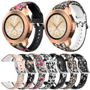 20mm Silicone Watchband for Samsung Galaxy Watch 42mm Active2 40/44mm Gear S2 Strap Band Bracelet for Active 2 Huami Amazfit bip