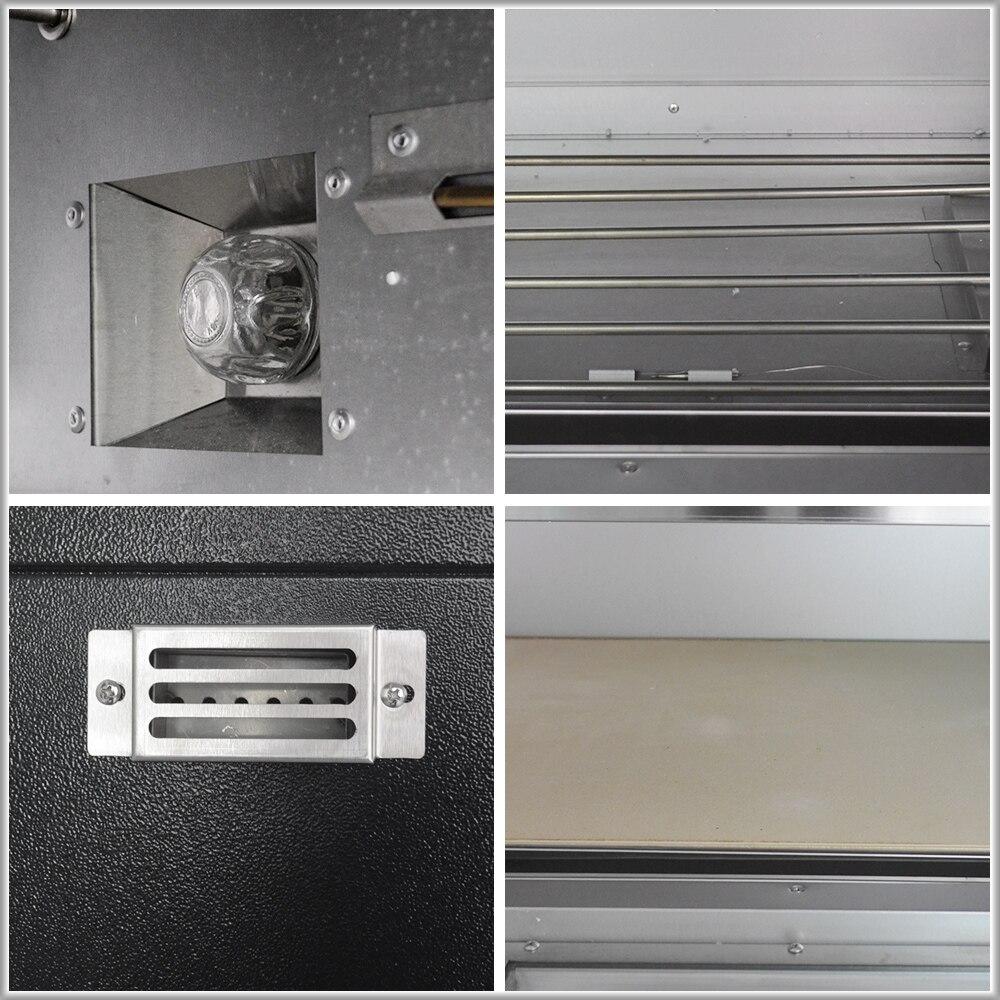 XEOLEO horno de Pizza máquina horno de pan horno eléctrico comercial de acero inoxidable hornos eléctricos con pizarra 220/380V 4200W - 5