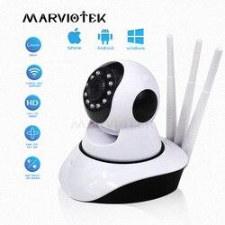 720 p câmera ip wi fi câmera de vigilância de vídeo de segurança em casa mini monitor do bebê em dois sentidos áudio ip cctv câmera sem fio