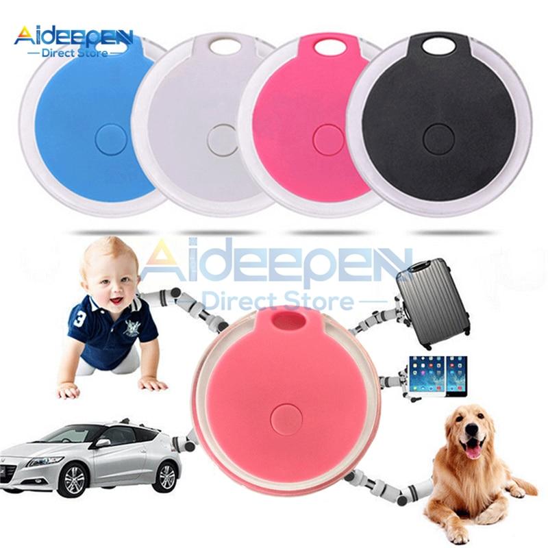 Mini Waterproof Phone Bluetooth Tracker Locator Anti-Lost Theft Device Alarm Remote GPS Tracker Child Pet Bag Wallet Key Finder