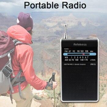 Радиоприемник RETEKESS PR15 AM/FM 6