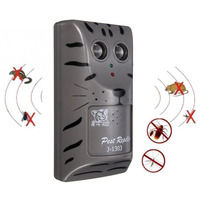 Practical Design Household Double Head Electronic Ultrasonic Pest Control Repeller Mouse Insect Rodent Repeller Tool|Repellents|Home & Garden -