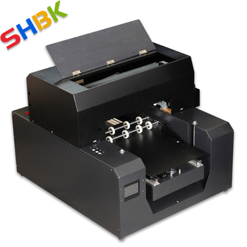 Full Automatic A3 UV Printer Cylinder UV Flatbed Printers For Phone Case Bottle Pen Lighter Acrylic PVC Glass With Touch Screen