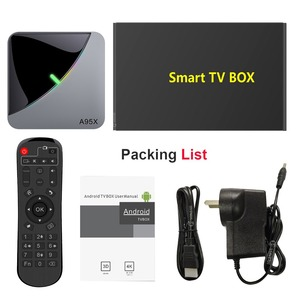 Image 5 - A95X F3 Air 8K RGB Light TV Box Android 9.0 Amlogic S905X3 4GB 64GB Wifi 4K 75fps Netflix Youtube Box Android tv Media player X3