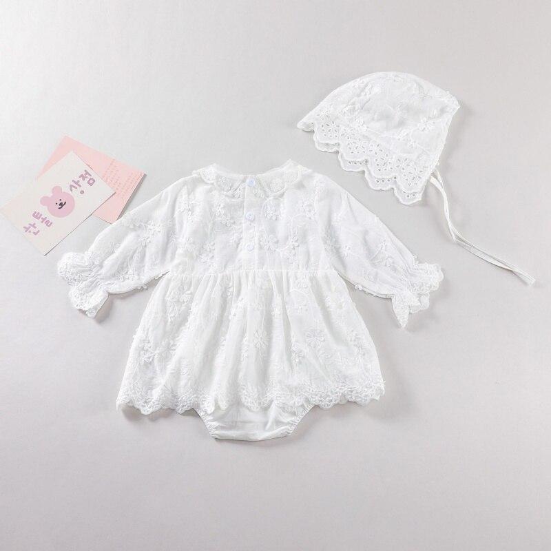 Купить платье для малышей платье крещения девочек белое кружевное принцессы