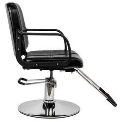سفينة سريع للمرأة الحلاق كرسي مقعد تصفيف الشعر كرسي صالون الشعر الجمال الشامبو معدات سبا أسود اللون