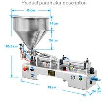 Поршневой Тип пневматическая машина для наполнения пасты из нержавеющей стали жидкая паста двойного назначения машина для наполнения