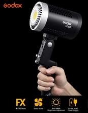 Godox ML 60 60Ws ledライト強力なとポータブル日光バランスbowensマウントビデオライトサイレント供給ダブルモード電源