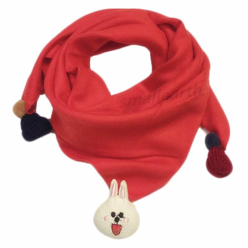Весенние клетчатые треугольные шарфы в горошек для маленьких девочек; осенне-зимняя шаль для мальчиков и девочек; Детские хлопковые воротники; теплый детский шейный платок - Цвет: D7