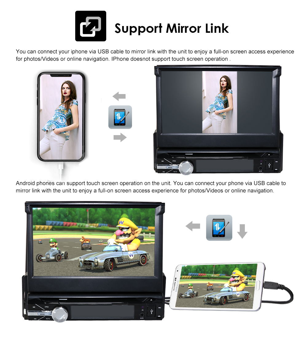 Bluetooth DVD GPS auto