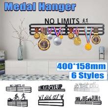 Elegante colgador de medallas de acero inoxidable, soporte de exhibición, estante de exhibición para correr, nadar, gimnasio, maratones, bicicleta, Medalla deportiva, decoración de regalo