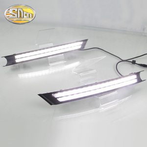 Image 3 - SNCN 2PCS LED Daytime Running Light For Mazda CX 5 CX5 2017   2020 Flowing Turn Signal Relay ABS 12V DRL Fog Lamp Decoration