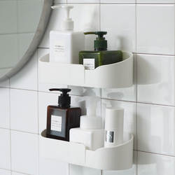 Полка для ванной комнаты крючки для стены Ванная комната кухонное отверстие Пробивной Туалет всасывания Тип инструмента присоска