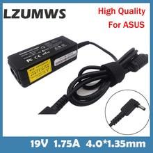 LZUMWS EU 19V 1.75A 33W 4.0*1.35mm AC Laptop Charger Power Adapter For ASUS ADP-33AW S200E X202E X201E Q200 S200L S220 X453M