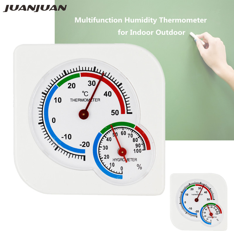 Multifunction Indoor weather station -20C-50C Humidity Hygrometer Thermometer Home Temperature Meter temp instruments 40% off