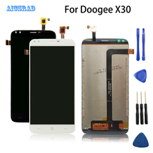 AICSRAD For DOOGEE X30 LCD display and Touch Screen Assembly perfect repair part Good quality X 30 +Tools