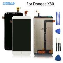 AICSRAD para DOOGEE X30 pantalla LCD y montaje de pantalla táctil pieza de reparación perfecta buena calidad X 30 + herramientas