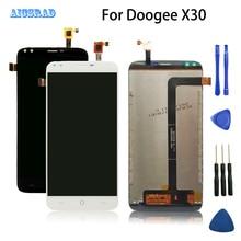 Aicsrad doogee X30 lcd ディスプレイとタッチスクリーンアセンブリ完璧な修理部品良好な品質の x 30 + ツール