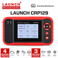 цена на LAUNCH Creader CRP129 OBD2 Car Scanner Automotive Diagnostic Tool Auto Scan Engine ABS SRS Airbag Scaner PK Launch Creader VIII