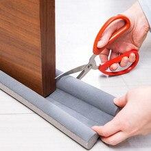 Redução de ruído à prova de som sob o projeto da porta rolha à prova de poeira janela tempo tira flexível porta inferior vedação tira