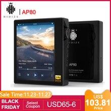 Hidizs AP80高解像度ES9218P超軽量bluetoothハイファイ音楽MP3プレーヤーldac usb dac dsd 64/128 falc dap