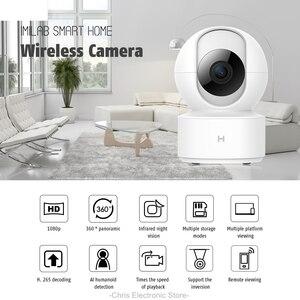 Caméra IP sans fil 1080P IP HD caméra IP sans fil 360 Angle CCTV WiFi caméra de Vision nocturne panoramique pour Mi maison intelligente