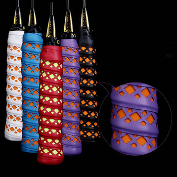 1pcs Anti-slip Fishing Rod Overwraps Cover Tape Outdoor Sports Badminton Racket Grip Band Sweat-absorbent Belt Accessories