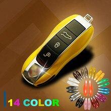 Capa para chave do carro porsche, capa para controle remoto sem chave, proteção lateral