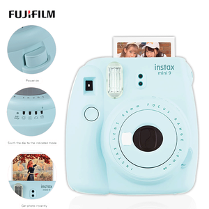 5 Colors Fujifilm Instax polaroi Mini 9 Instant Camera Mini7c instantanea Photo Camera Boy girlfriend romantic Gift