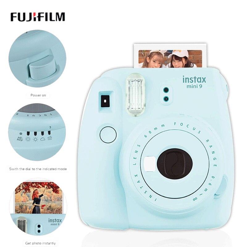 5 farben Fujifilm Instax polaroi Mini 9 Instant Kamera Mini7c instantanea Foto Kamera Junge freundin romantische Geschenk