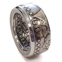 2020 Vintage Rings For Woman Geometric Bohemian Morgan Coin Ring Women Retro Jewelry